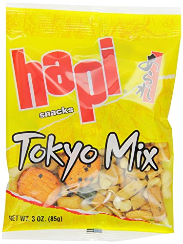 Hapi Tokyo Mix, 3-Ounce Bags (Pack of 12)