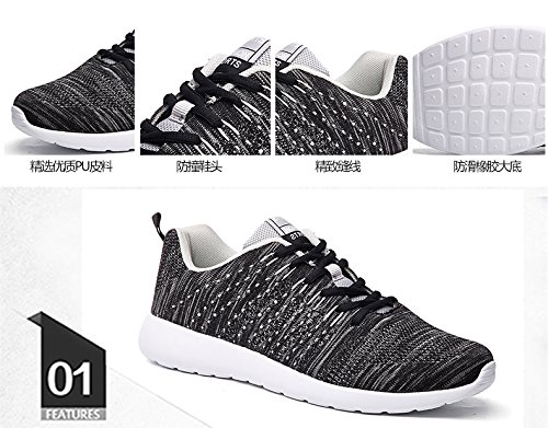 Mesh Sneakers Lightweight and Running Breathable Casual Men Shoes Women Blue For Fitness Fashion deodorant 64wqrd6p