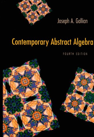 joseph a gallian contemporary abstract algebra 9th edition pdf