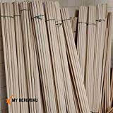 Verga raw material DIY Pack 20x pcs - Medio Size 155 cm