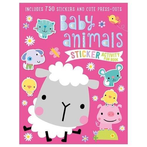 Baby Animals Sticker Activity Book 9781786929594 Amazon Com Books