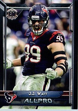 huge selection of 53d03 ee06d Amazon.com: 2015 Topps #265 J.J. Watt AP - Houston Texans ...