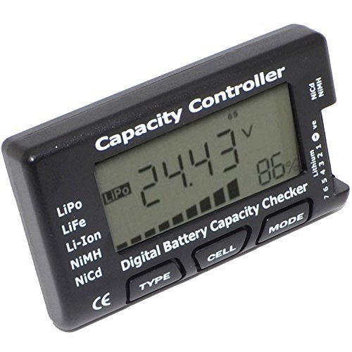 eHappyMaker RC CellMeter-7 Digital Battery Capacity Checker LiPo LiFe Li-ion NiMH Nicd