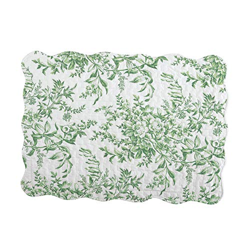 Collections Etc Leafy Floral Garden Pillow Sham Sage Sham, Sage, Sham from Collections Etc