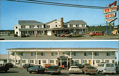 Amazon.com: Twin City Motor Inn Brewer, Maine Original Vintage Postcard: Entertainment Collectibles