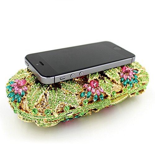 Shoulder Shells Embroidery Dinner Evening Clutches Luxury Evening Bags Colorful Party Flower Bag Lady Chain qwExSRnz1x