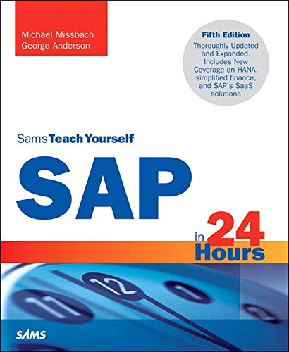 Download SAP in 24 Hours, Sams Teach Yourself Pdf