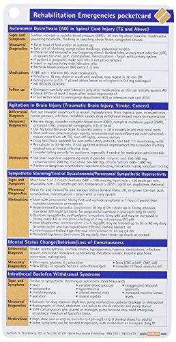 Rehabilitation Emergencies Pocketcard