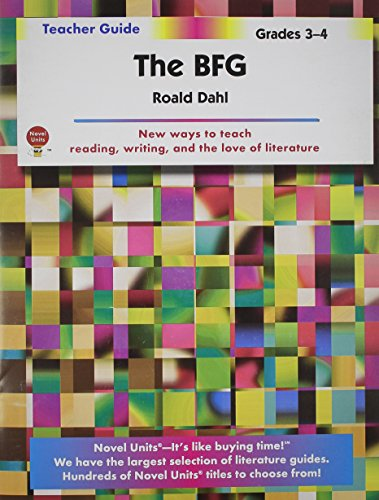 Discount Unit - The BFG - Teacher Guide by Novel Units, Inc.