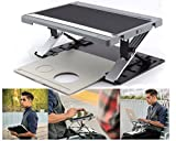 A-STAND lap easel - desk - case - mobile digital workstation BLACK
