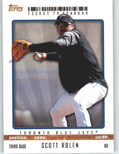 (Scott Rolen - Toronto Blue Jays - Topps Ticket to Stardom Baseball Card # 80 - MLB Trading Card)