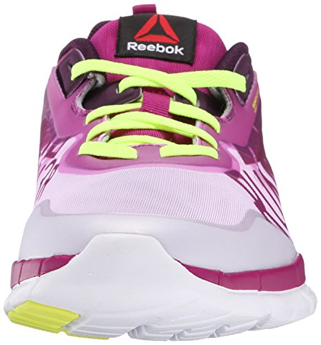 Reebok Womens Zquick Soul GP Running Shoe Graphic Print Fierce Fuchsia/Lilac Ice/Royal Orchid/Solar Yellow/White q8ZFH