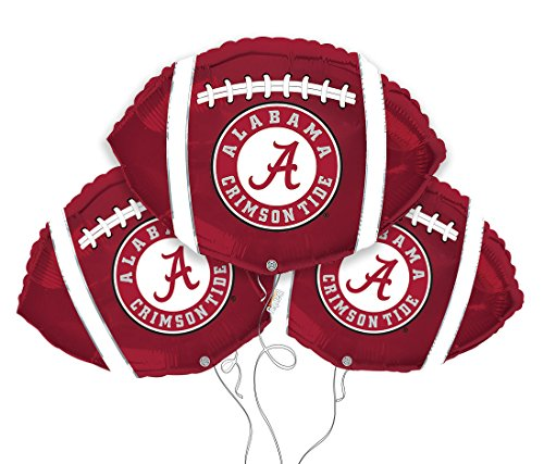 Alabama Crimson Tide College Football Mylar Balloon 3