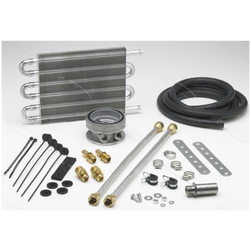 1964 Ford Victoria Engine - Hayden Automotive 462 Ultra-Cool Engine Oil Cooler Kit