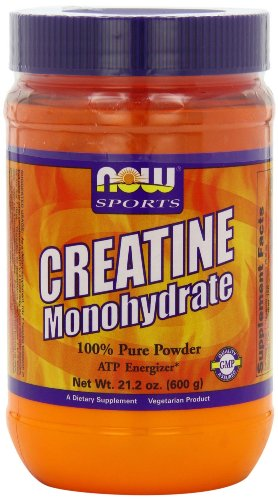 NOW Foods - Creatine Monohydrate 100% Pure Powder - 21.2 oz. -