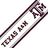 NCAA Texas AM Self-Stick Wall Border - Aggies Decor Accent