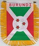 Burundi Car Flag Hanging Pennant