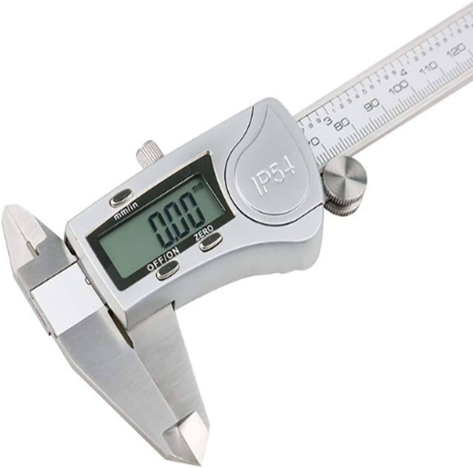 Electronic Digital Caliper with LCD Screen,0-200Mm Stainless Steel Vernier Caliper for Woodworkers Automotive Mechanics,Electronic Measuring Tool with Storage Box,Inch//Millimeter Conversion