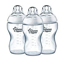 Tommee Tippee Closer to Nature 3-Pack 11 Ounce Added Cereal Bottle