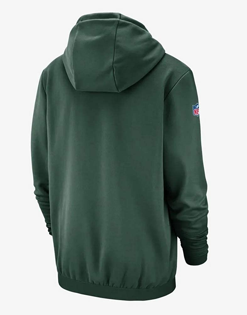 buy online 35aa1 07ae1 Amazon.com : Nike Men's Green Bay Packers NFL Therma Hoodie ...