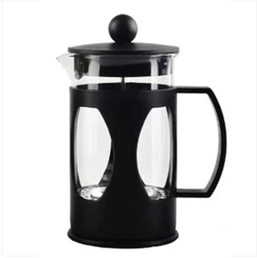 Acquisto Caffettiera a Mano in Acciaio Inox Teiera in Vetro in Acciaio Inox con Filtro a Pressione per Uso Domestico a Pressione 600ml Prezzi offerta