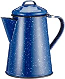 GSI Outdoors 6 Cup Coffee Pot for Storing Hot Coffee, Tea and Water While Camping