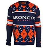 Denver Broncos EXCLUSIVE Argyle Sweater Large