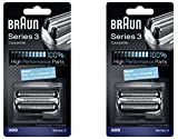 Braun Series 3 Blade Replacement - BRAUN 32S Series 3 Shaver Foil and Cutter Head Replacement Cassette, 2 Count