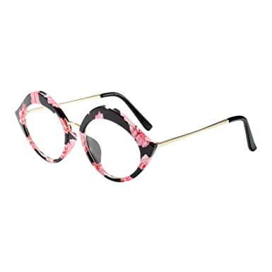 951d6bc33f Hzjundasi Fashion Lips Shape Eyeglasses Frame Women Ladies Spectacles Clear  Lens Glasses Korean Chic Personality Frame