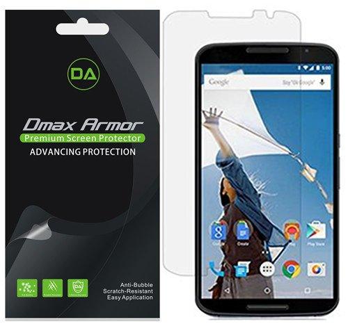 [6-Pack] Dmax Armor for Motorola Google Nexus 6 Anti-Glare & Anti-Fingerprint (Matte) Screen Protector - Lifetime Replacements Warranty- Retail Packaging
