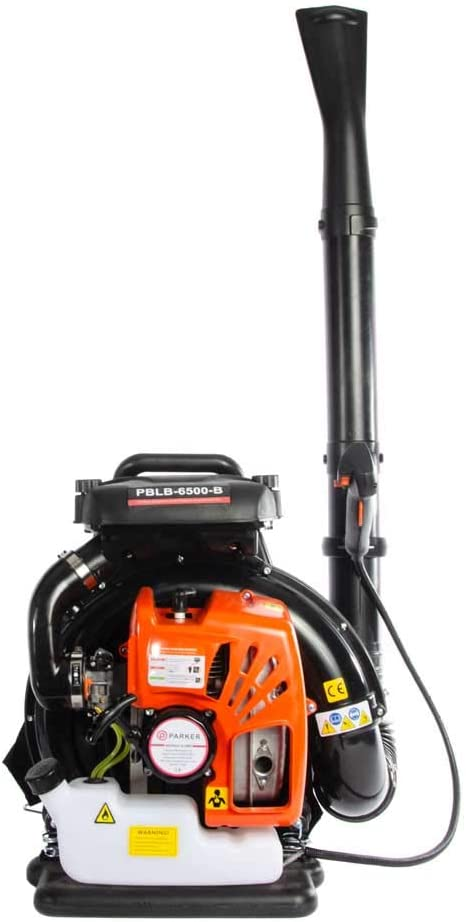 Parker Brand Petrol Engine Leaf Blower - Fast and Fancy