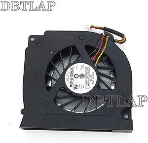 DBTLAP Laptop CPU Fan Compatible for Dell Latitude E5500 E5400 C946C DFS531305M30T F7E8-CW GB0507PGV1-A 13.V1.B3559.F.GN C946C MCF-W12BM05