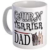 CafePress - Image Cairn Terrier Dad - Unique Coffee Mug, Coffee Cup