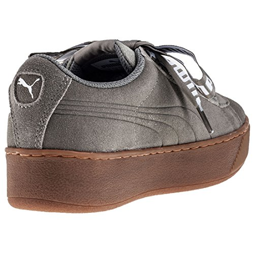 Puma Dame Vikky Platform Bånd Fed Sneaker Khaki M6s5V
