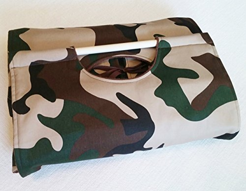 Carrier Brown Pan (9x13 Camo Casserole Carrier, Free Shipping, Olive Green, Tan & Brown, Can be Personalized)