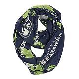NFL Seattle Seahawks Silky Spatter Infinity Scarf