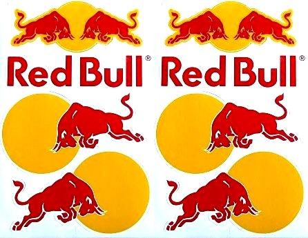 energy drink sticker sheets - 4