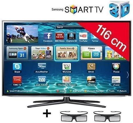 SAMSUNG Televisor LED Smart TV 3D UE46ES6300: Amazon.es: Electrónica