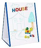 magnet board for kids - EduKid Toys MAGNETIC EASEL & WHITEBOARD