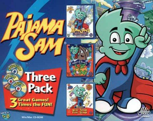 HUMONGOUS  Pajama Sam 3-Pack (Windows /Macintosh)
