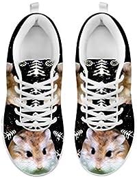 Women's Sneakers-Roborovski Hamster (Robo Dwarf Hamster) Print Casual Running Shoes