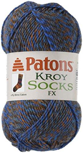 (Spinrite Kroy Socks FX Yarn, Casual)