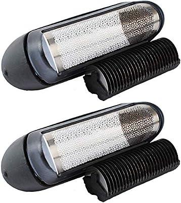 10B Cabezales de Afeitar para Braun Afeitadoras Eléctricas Hombre 20B 1000/2000 Series 1735 1775 170 180 190 por Poweka (2 Piezas): Amazon.es: Salud y cuidado personal