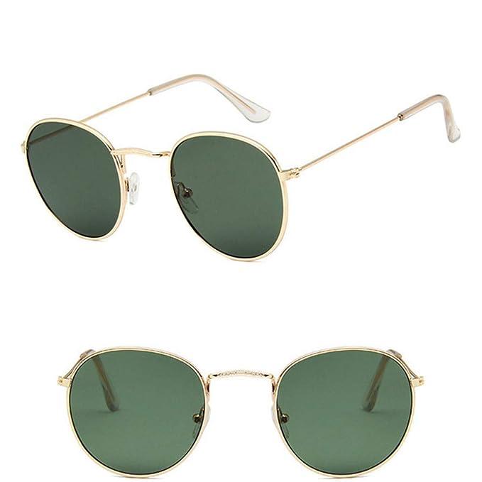 Wang-RX Gafas de sol clásicas ovaladas clásicas de mujer ...