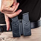 HQDA Universal Double Magazine Pouch 9mm .40 Mag