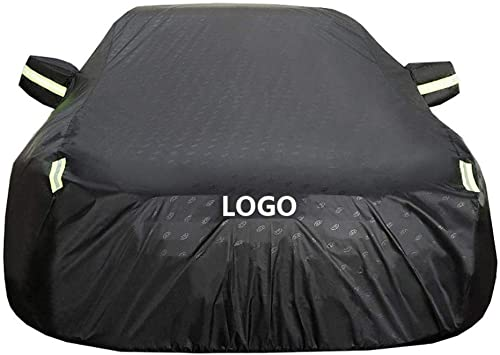 Car Covers Compatible With Audi A1//A3 Sportback//Sportback E-Tron//Limousine Breathable Mobile Garage Outdoor Protect Car Paint Four-Layer Waterproof Anti-Frost Oxford Cloth Tarpaulin Reflective Tape
