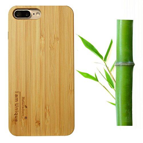 NeWisdom iPhone Handmade Bamboo Rubber