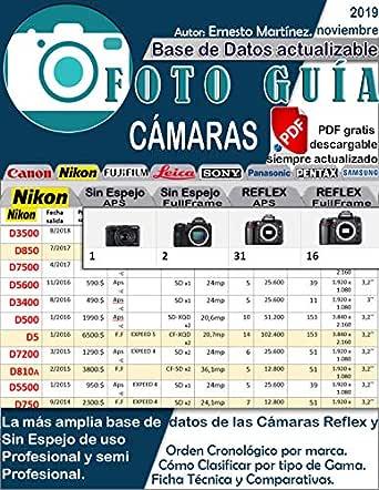 Foto Guía de Cámaras profesionales.: Base de datos de las cámaras ...