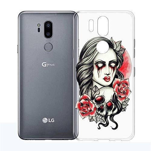Halloween Make up LG G7 ThinQ Case,LG G7