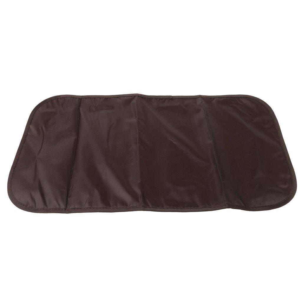 Wickeltasche Babytasche Pflegetasche Tasche Braun Baby Geschenkidee Multifunktionale Mama-Paketbeutel Druck Beige one size
